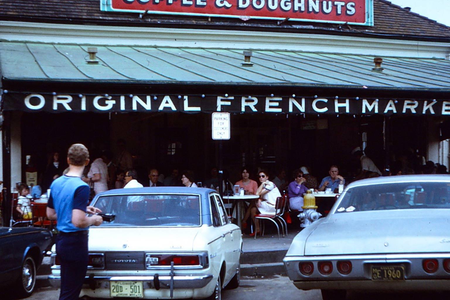 Cafe du Monde in 1973